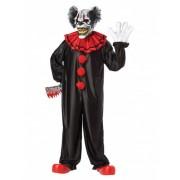Vegaoo Schrecklicher Clown Halloweenkostüm für Erwachsene