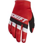 Shift WHIT3 Air Motocross Gloves Red L
