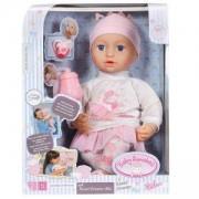 Детски комплект с кукла Миа Сладки сънища, 43 см., Baby Annabell, 790303