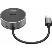 Hub USB Unitek 3xUSB Negru