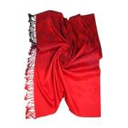 Canne Orient šál červená