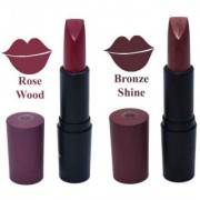OTG Smooth Glide Creme Matt Lipstick - Rose wood/ Bronze Shine