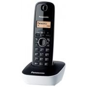 Telefon Panasonic KX-TG1611FXW, crna, bijela, Bežični, 24mj