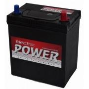 Electric Power 12V 40Ah 300A ASIA JOBB+ vékony autó akkumulátor (+AJÁNDÉK!)