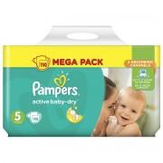 Pampers Active Baby-Dry pelene, mega pakiranje, veličina 5 (Junior), 11-18 kg, 110/1 - 5