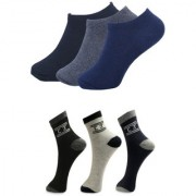 manan fashion multi color socks for men (pack of 6 pairs)