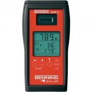 Benning SUN 2 Napfény besugárzás mérő, napfény mérő és hőmérséklet mérő műszer (101741)