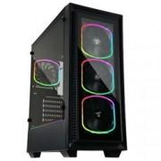 ENERMAX CASE STARRYFORT SF30 MID.T 4*SQUARGB + STRISCIA LED RGB + HUB RGB