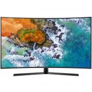 Televizor LED Curbat Samsung 49NU7502, 123 cm, Smart, 4K UHD, HDMI, Wi-Fi, Negru