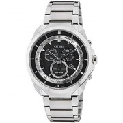 Citizen Eco-Drive Analog Black Dial Mens Watch - AT2150-51E