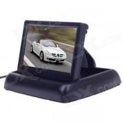 """""""XY-2046 pantalla de monitor plegable TFT de 4.3 """"""""para coche-negro"""""""