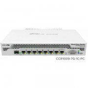 MikroTik Cloud Core Router 7x Gb Lan 1x Combo TP SFP MIK-CCR1009-7G-1C-PC