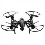 JIN XING da; jd 509W 6-Axis mini gyro r / c quadcopter juguete - negro