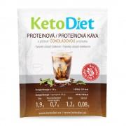 KETODIET Proteinová ledová káva s čokoládovou příchutí 7 porcí