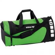 erima Sporttasche 5-CUBES (mit Nassfach) - green/schwarz | M