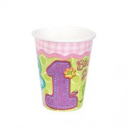 amscan Hugs & Stitches Girl 9 oz Cups 8 ct by