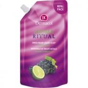 Dermacol Aroma Ritual sabonete líquido antisstress uvas e lima 500 ml