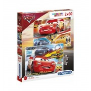 Puzzles 60 piezas Cars Disney - Clementoni