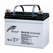 RA12-33 12V 33 Ah Zárt ólomzselés akkumulátor (RITAR)