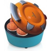 Crompton ACGT-CKM71-I Cupcake Maker(Blue, Orange, Non-stick Coating)