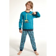 Crane fiú pizsama türkiz 122128