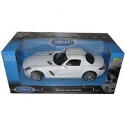 Mercedes SLS AMG White 1/24 by Welly 24025