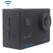 HAMTOD HF60 UHD 4K WiFi 16.0MP Спортна Камера с Водоустойчив Калъф