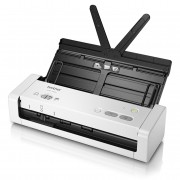 Escaner Documental Brother Ads-1200 Compacto Departamental/ 25ppm/ Duplex Automatico/ Micro Usb 3.0/ Adf 20 Hojas