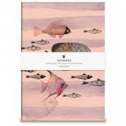 Anteckningsbok Deep Sea Pink, Rosa