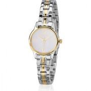 Citizen Analog White Round Women's Watch-EX0294-58H