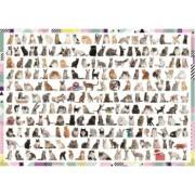 Puzzle Trefl - 208 Cats 1000 piese