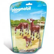 Комплект Плеймобил 6643 - Семейство окапи, Playmobil, 291195