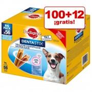 100+12 gratis Pedigree Dentastix mediano