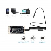 7mm Cable USB Cámara De Alta Resolución Endscope-Negro