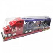 Camion de jucarie cu remorca si motor
