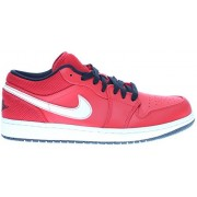 Nike Air Jordan 1 Low University Red/Black-White US Men's size 10