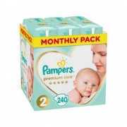 PAMPERS Premium Care Monthly 2 MINI 4-8 kg 240 kusů