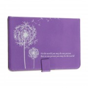 Luxury Dandelion Pattern Leather Case With Stand For IPad Mini