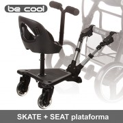 Be Cool Skate Seat pack plataforma universal