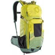 Evoc FR Enduro 16L Mochila protetora Verde Amarelo M L