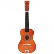 Simulación de guitarra de juguete 360DSC - Café de triangulación
