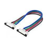 2 darab csatlakozóelem kábellel 10mm RGB 7.2W (5050) LED szalaghoz , LUM30-36 Lumen
