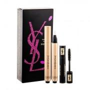Yves Saint Laurent Touche Éclat tonalità No.2 confezione regalo illuminatore Touche Eclat 2,5 ml + mascara Volume Effet Faux Cils 2 ml Black donna