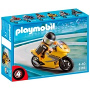 Playmobil Super Racer Motorcycle with Rider