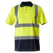 TRICOU REFLECTORIZANT TIP POLO / GALBEN - XL