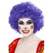 Peruca petrecere afro clown mov