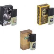 Skyedventures Set of 3 Kabra Yellow-Romantic-The Boss Perfume