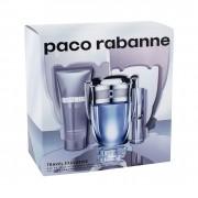 Paco Rabanne Invictus 100Ml Edt 100 Ml + Edt 10 Ml + Shower Gel 75 Ml Per Uomo (Eau De Toilette)