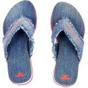 Swiss Connection Denim Flip Flops