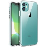 Husa APPLE iPhone 11 Pro Max - Luxury Slim 1mm TSS, Transparent